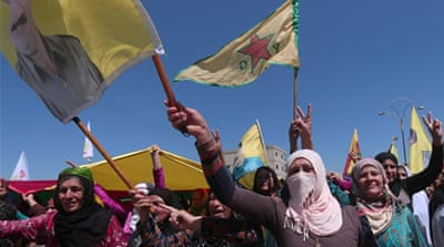 Syrians vote in Kurdish-held northern region