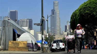 Cruel cycle of domestic violence and homelessness in LA