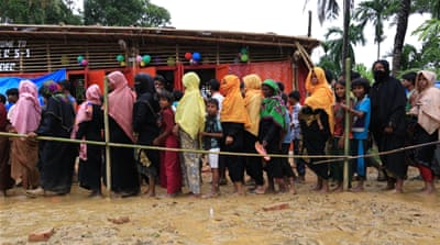 Aid groups appeal for funds to tackle Rohingya crisis