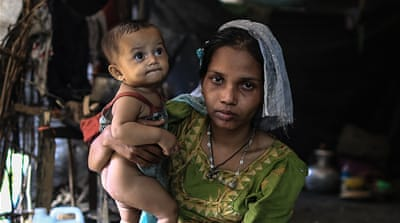 Rohingya mothers and babies: Hungry and traumatised
