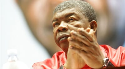 Angola swears in Joao Lourenco as president