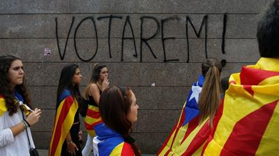 Catalan students rally to defend independence vote