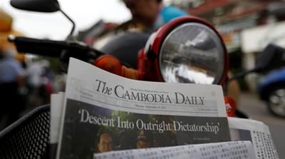 'Perilous times' as Cambodia Daily shuts after 24 years