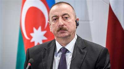 Aliyev took over as president in 2003 after the death of his father [File: Ilmars Znotins/AFP/Getty Images]