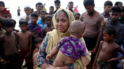Rohingya warn of 'another Srebrenica' if violence rages