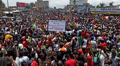 Why are people protesting in Togo?