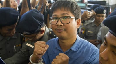 Myanmar: Draconian law used against Reuters reporters
