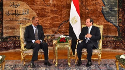 Eritrea, Egypt presidents meet amid Red Sea tensions