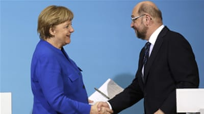Germany's Merkel makes breakthrough in coalition talks