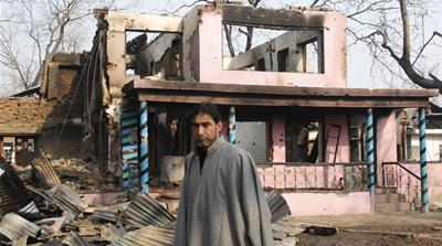 Kashmiri homes become collateral damage in gun battles