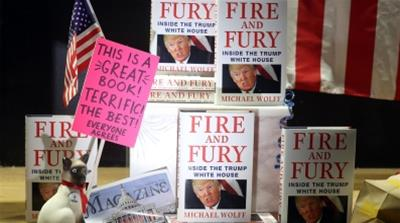 Fire and Fury display [Getty Images]