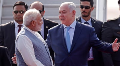 Defence, trade and Bollywood: Netanyahu visits India