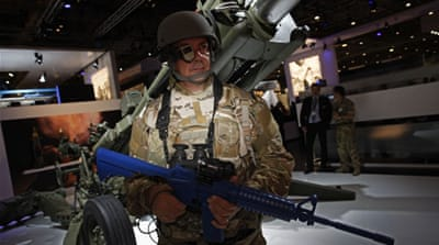 UK spent $1.3m on security for world's biggest weapons fair