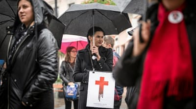 Why Polish women are rallying for reproductive rights