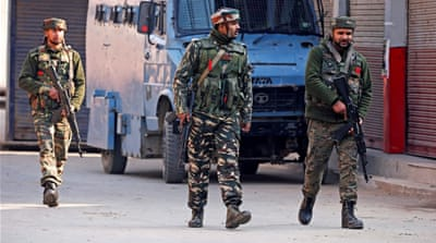 Violence in Kashmir leaves three civilians dead