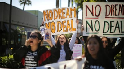 Dreamers feel 'sold out' as Trump signs spending bill