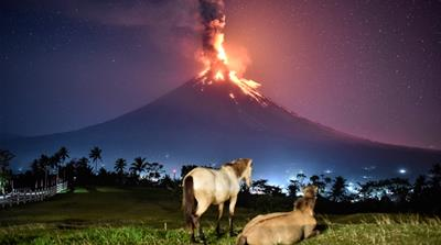 Philippines' most picturesque volcano erupts