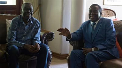 Emmerson Mnangagwa: 'No need' for coalition government