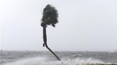 Storm surged of nearly 2 metres were recorded in Florida