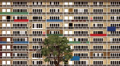 The suburbs: A brief history of French housing estates