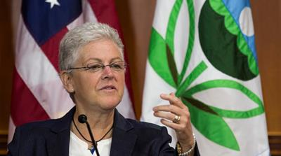 Gina McCarthy: No 'political will' for action on climate change