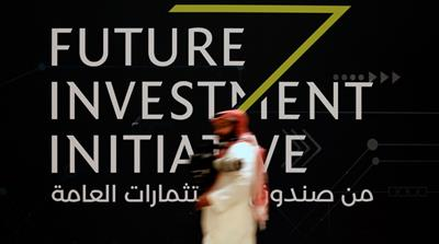 The inaugural edition of the Future Investment Initiative was held last year in Riyadh [Hamad I Mohammed/Reuters]