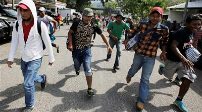 Migrant caravan activists: Trump to blame for Honduras situation