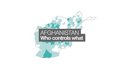 Afghanistan: Who controls what