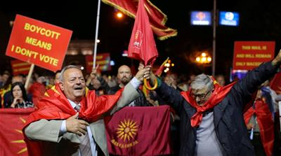 Macedonian lawmakers back North Macedonia name change