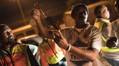 On night patrol with a South African vigilante group