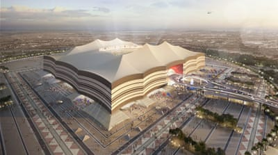 World Cup 2022: A room with a view at Qatar's Al Bayt Stadium