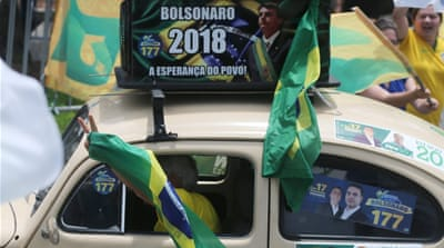 Brazil: Far-right candidate Jair Bolsonaro poised for victory