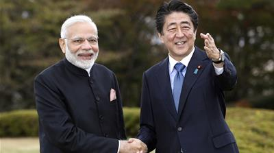 Abe and Modi to discuss trade, security in Japan summit