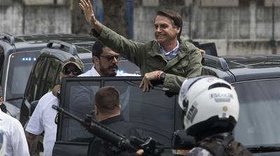 Jair Bolsonaroof the far-right Social Liberal Party won the presidential elections in Brazil on October 28, 2018 [AP Photo/Leo Correa]