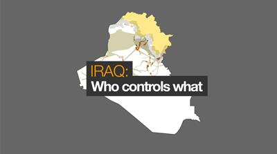 Iraq war map: Who controls what