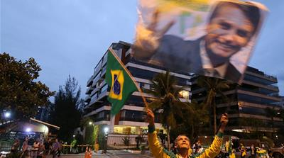 Far-right Bolsonaro widens lead on eve of Brazil's elections