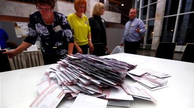 Latvia elections: Pro-Russia, Pro-Europe parties see gains