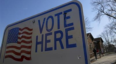 The midterm elections will take place on November 6 [File: Jim Young/Al Jazeera]