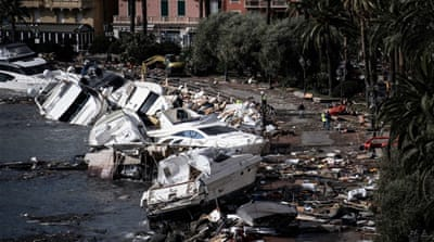 Italy and neighbours hit by damaging weather