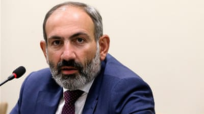 Armenia PM Nikol Pashinyan resigns in order to hold early vote