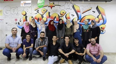 Palestinian 'geeks' code their way to a better future in Gaza