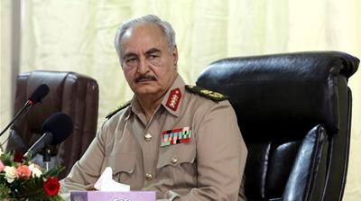Renegade General Khalifa Haftar joins Libya conference in Palermo