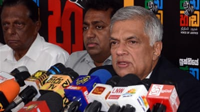 Sri Lanka: Deposed PM's opponents seek to bar him from parliament