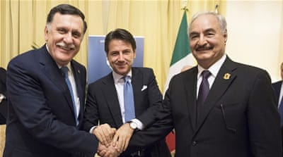 Italy's Libya talks end with commitments but no joint statement