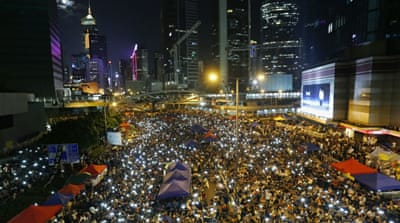 Trio who sparked Hong Kong's Occupy protest to stand trial