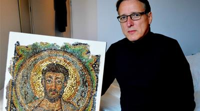 Saint Mark mosaic, missing for decades, returns to Cyprus