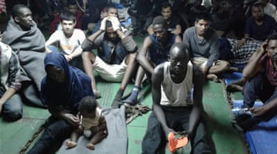 Barricaded refugees 'ready to die' than return to Libya detention