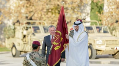Jordan criticised over renaming brigade after UAE crown prince