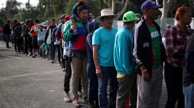 US creating border crisis by stalling asylum cases, advocates say