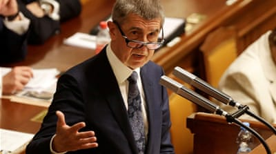 Czech PM survives no-confidence vote amid corruption allegations